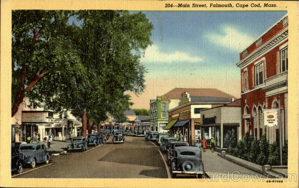 Main Street, Falmouth Cape Cod Massachusetts