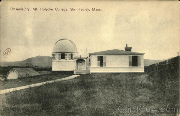 Observatory , Mt. Holyoke College South Hadley Massachusetts