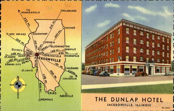 The Dunlap Hotel Jacksonville Il