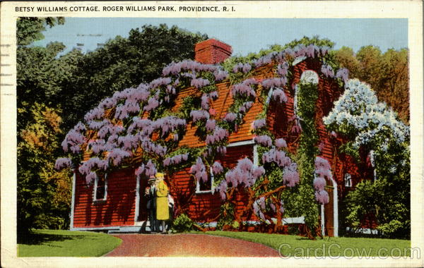 Betsy Williams Cottage, Roger Williams Park Providence Rhode Island
