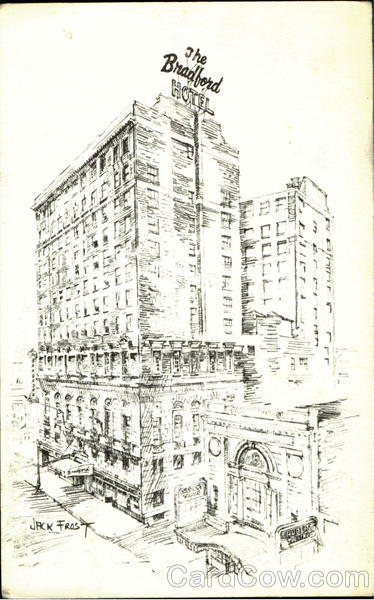 Bradford Hotel, 275 Tremont Street Boston Massachusetts