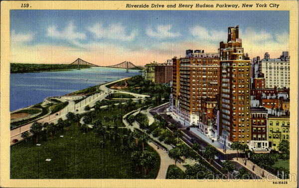 Riverside Drive And Henry Hudson Parkway New York City