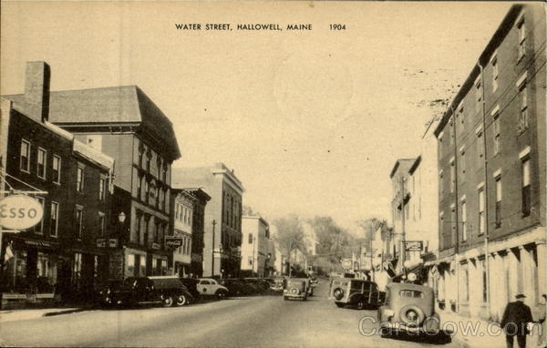 Water Street Hallowell Maine