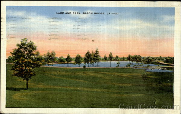 Lake And Park Baton Rouge Louisiana
