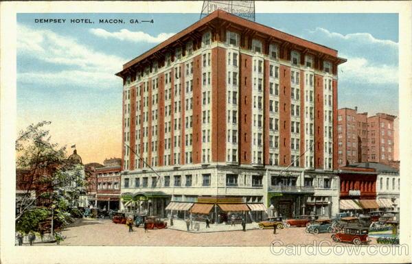 Dempsey Hotel Macon Georgia
