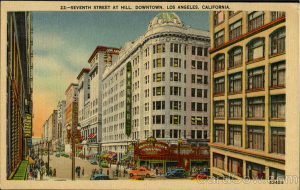 Seventh Street At Hill Los Angeles California