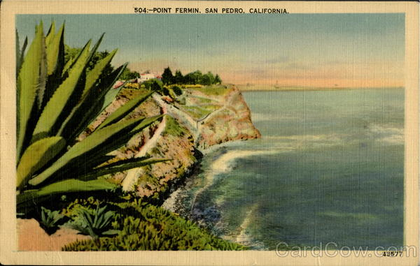 Point Fermin San Pedro California