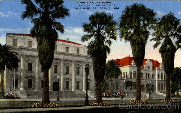 County Court House San Jose California