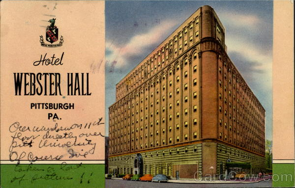 Hotel Webster Hall, 4415 Fifth Avenue Pittsburgh Pennsylvania