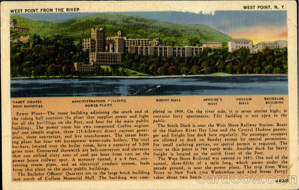 West Point From The River New York