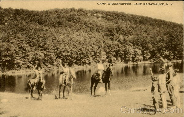 Camp Wiquanuppek Lake Kanawauke New York
