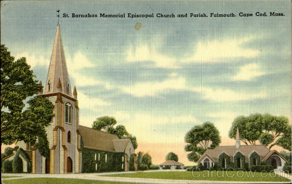 St. Barnabas Memorial Episcopal Church And Parish, Falmouth Cape Cod Massachusetts