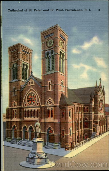 Cathedral Of St. Peter And St. Paul Providence Rhode Island