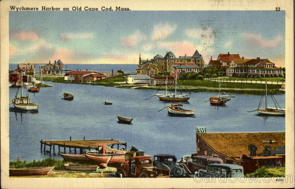 Wychmere Harbor On Old Cape Cape Cod Massachusetts