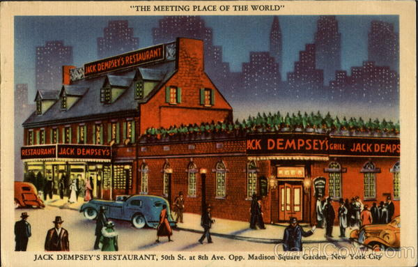 Jack Dempsey's Restaurant, 50th St. AT 8th Ave New York City