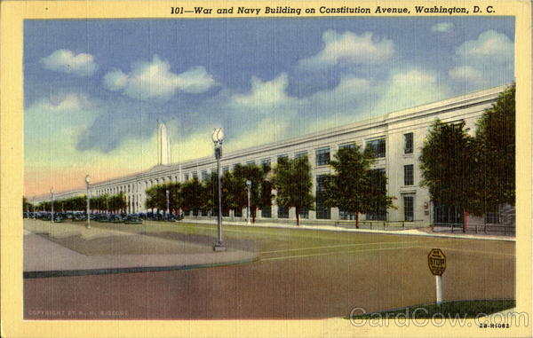 War And Navy Building , Constitution Avenue Washington  District of Columbia