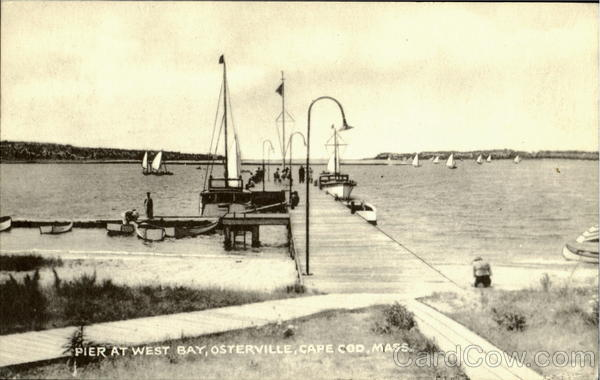 Pier At West Bay, Osterville Cape Cod Massachusetts
