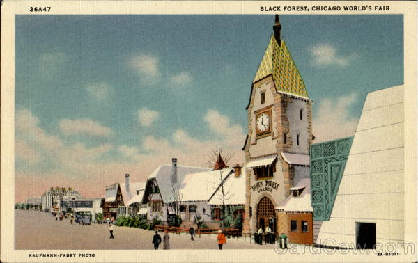 Black Forest 1933 Chicago World Fair