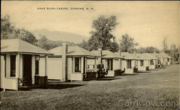 Brae Burn Cabins Gorham New Hampshire