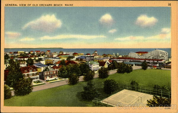 General View Of Old Orchard Beach Maine