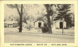 Fay's Modern Cabins, Route 122