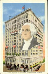 Hotel George Washington Postcard