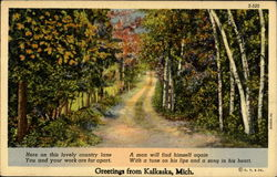 Greetings From Kalkaska