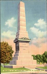 Monument To Capt. Nathan Hale