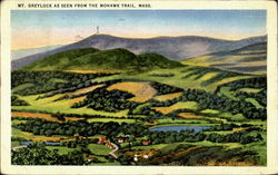 Mt. Greylock As Seen From The Mohawk Trail