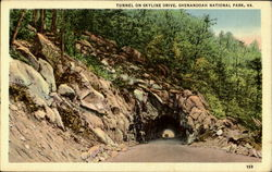 Tunnel On Skyline Drive, Shenandoah National Park