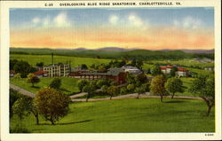 Overlooking Blue Ridge Sanatorium