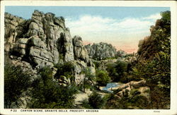 Canyon Scene Granite Dells