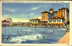 The Flanders Swimming Pool, 11th Street and Boardwalk