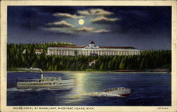 Grand Hotel By Moonlight