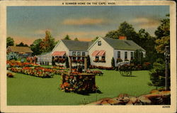 A Summer Home On The Cape Postcard