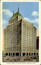 Hotel Manger At North Station Postcard