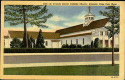 St. Francis Xavier Catholic Church Postcard