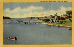 Beautiful Bass River Postcard