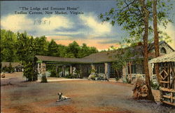 The Lodge And Entrance House, Endless Caverns