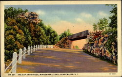 The Gap And Bridge, Minnewaska