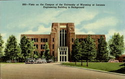 Vista, The Campus Of The University Of Wyoming
