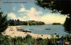 Long Beach On Sebago Lake