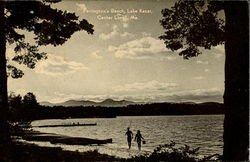 Farrington's Beach, Lake Kezar