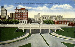 Underpass And Pine Street