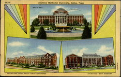 Southern Methodist University Postcard