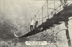 The Cable Swinging Bridge