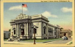 The James V. Brown Library