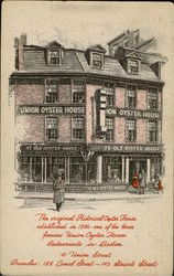 Historical Oyster House Postcard