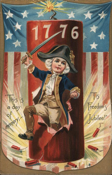 1776 This is a Day of Memory 'Tis Freedom's Jubilee!