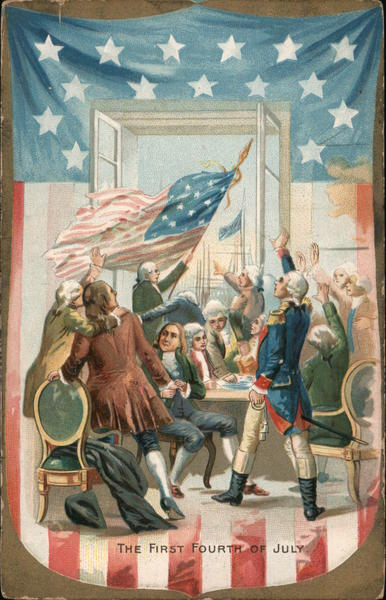 The first Fourth of July 4th of July